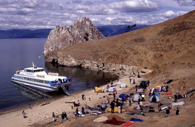 Дорога на Чивыркуйский залив - Отдых на Байкале